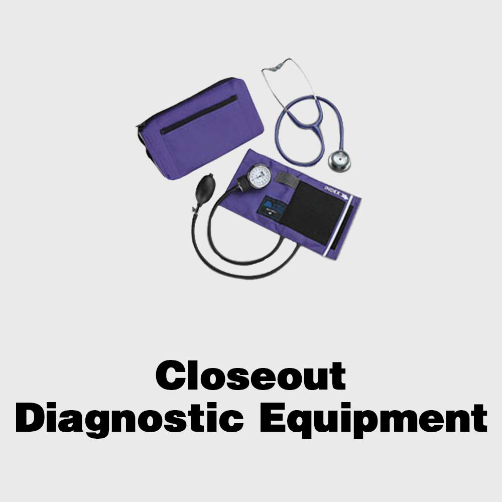 Closeout Diagnostic Equipment