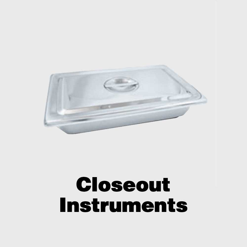 Closeout Instruments