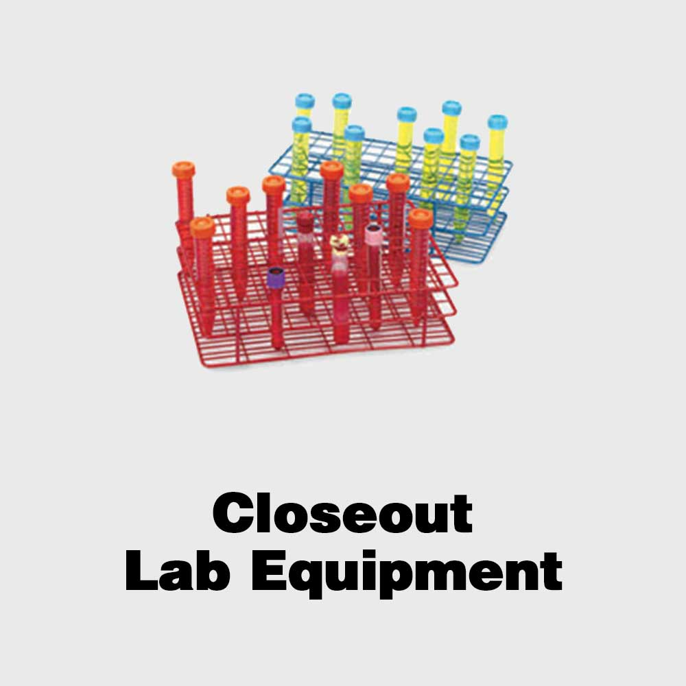 Closeout Laboratory Equipment