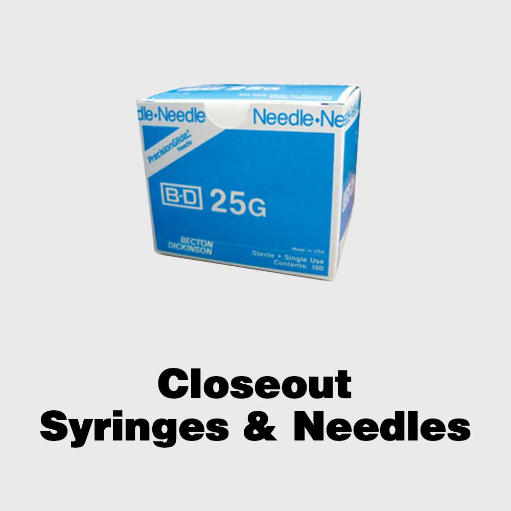 Closeout Syringes