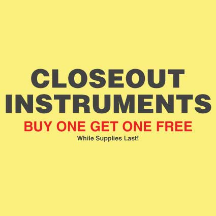 Buy One Get One Free Instruments