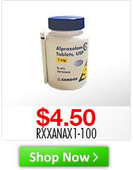 Alprazolam (CIV) Tablets Desc: 1mg, 100 tablets Price: $4.50 Sku: RXXANAX1-100 http://www.shopmedvet.com/category/WS101816?r=WS101816&p=WS101816