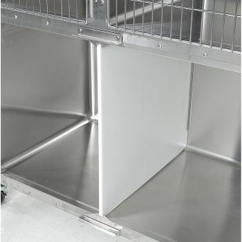 """CAGE, SS, VSSI, DIVIDER KIT, CENTER, FOR 48"""" x 30"""" DOUBLE DOOR CAGE, W/GRAVITY LATCH"""