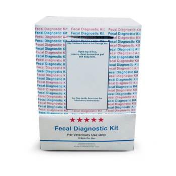 Fecatector Fecal Diag Kit 50 Box Equipment Amp Diagnostics