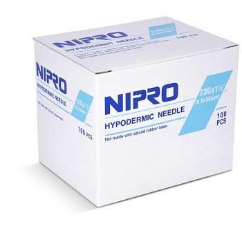 NEEDLE,23 X 1 1/2, NIPRO, 100/BX