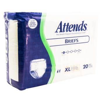 BRIEF,ATTENDS,X-LARGE,20/PACK