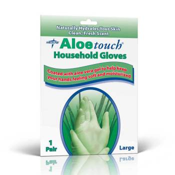 GLOVE,HOUSEKEEPING,LATEX,ALOE,L,144 PR/CS