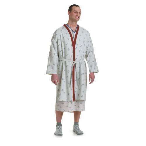 ROBE,PATIENT,GALAXY,BLUE TRIM,3XL,DZ