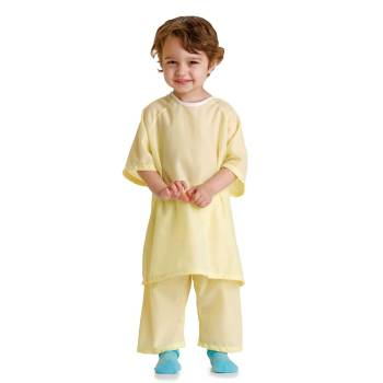 GOWN,PEDIATRIC,SOLID YELLOW,SMALL,DZ