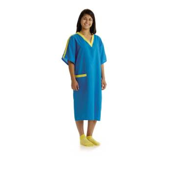 GOWN,IV,TEEN,TEAL,100% POLY,12-15 YRS,DZ