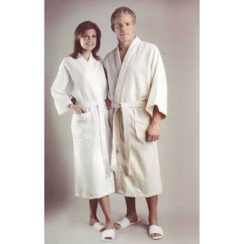 ROBE,PATIENT,DIA-WAFFLE,BEI,2XL,EA