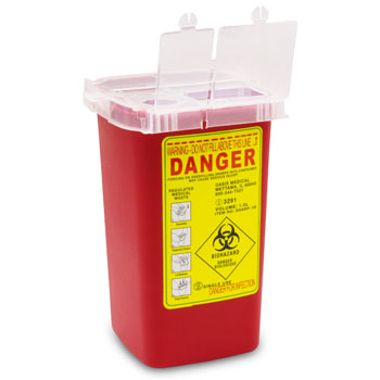 SHARPS CONTAINER 1 QT, EACH