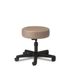 STOOL,NYLON BASE,5 LEG,PNEUM,PUTTY