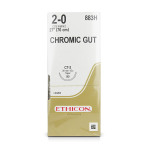 SUTURE,CHROMIC GUT,2-0,CT-2,36/BX
