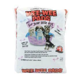 WEE-WEE PADS FOR LITTLE DOGS,12PK