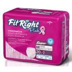"""UNDERWEAR,PINK,PROTECTIVE,FITRIGHT,MED,28-40"""",80/CASE"""