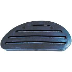 Black plastic hoof block