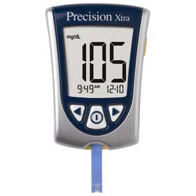 METER,BLOOD GLUCOSE,PRECISION XTRA,EACH