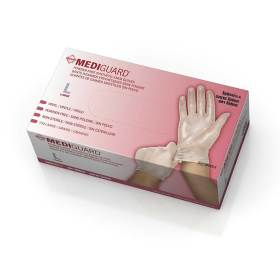 GLOVE,VINYL EXAM P/F LARGE 150/BOX