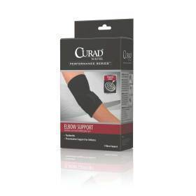 SUPPORT,ELBOW,SLEEVE,W/STRP,RETAIL,MD,EA