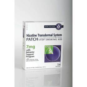 PATCH,NICOTINE,7MG,STEP 3,14/BX,14 EA/BX