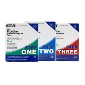 PATCH,NICOTINE,21MG,STEP 1,14/BX,14 EA/BX