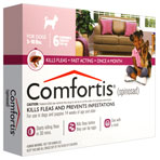 RX COMFORTIS CHEW TABS 5-10LBS 6 PACK
