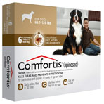 RX COMFORTIS CHEW TAB,60.1-120LBS,6/PACK