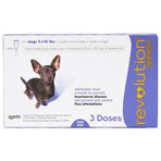RXV REVOLUTION DOGS 5-10LBS 3MONTH
