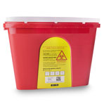 SHARPS CONTAINER 4 GALLON EACH