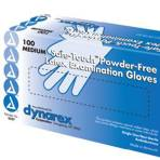 GLOVE,LATEX,POWDERFREE,MD,100 EA/BX