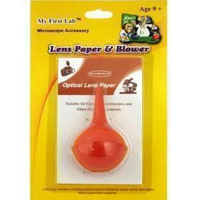 LENS PAPER & RUBBER BULB BLOWER,BX10