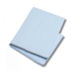 SHEETS, STRETCHER, WHITE/BLUE, 50/CASE