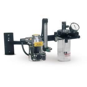 Anes. Machine,Wallmount anes machine w/ arm & no vaporizer
