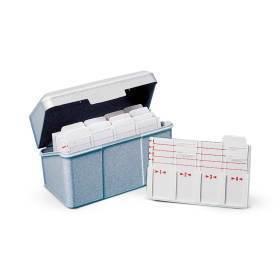 Tray, microscope slide storage box