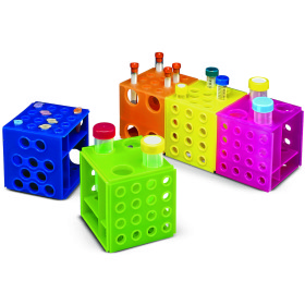 Rack, test tube, universal cube, 2/pk