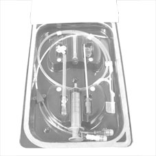 IV catheter, central venous, 4fr x13cm dble lumen