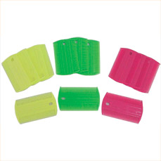 Flea comb,Disposable plastic flea comb, doz