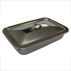"Tray,Instrument tray,strap handle,12""x7 3/4""x2 1/4"""