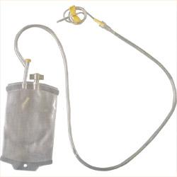 Blood bag, dry, 1 liter