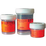 Container, formalin-filled, 120ml, 10 pk
