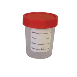 Container, specimen disposable, 4 oz, 100 non sterile