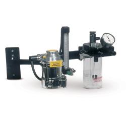 Anes. Machine,Wallmount anes machine w/Tech III style