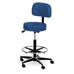 Stool,Navy blue laboratory stool