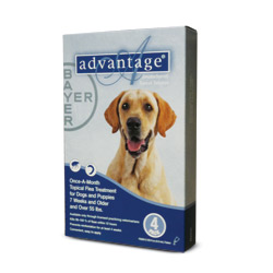 RXV ADVANTAGE FOR DOGS OVER 55LBS BLUE 6/PK