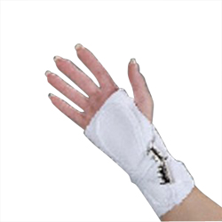 SPLINT,WRIST,HOSPITAL GRADE,CANVAS, LEFT, XSM