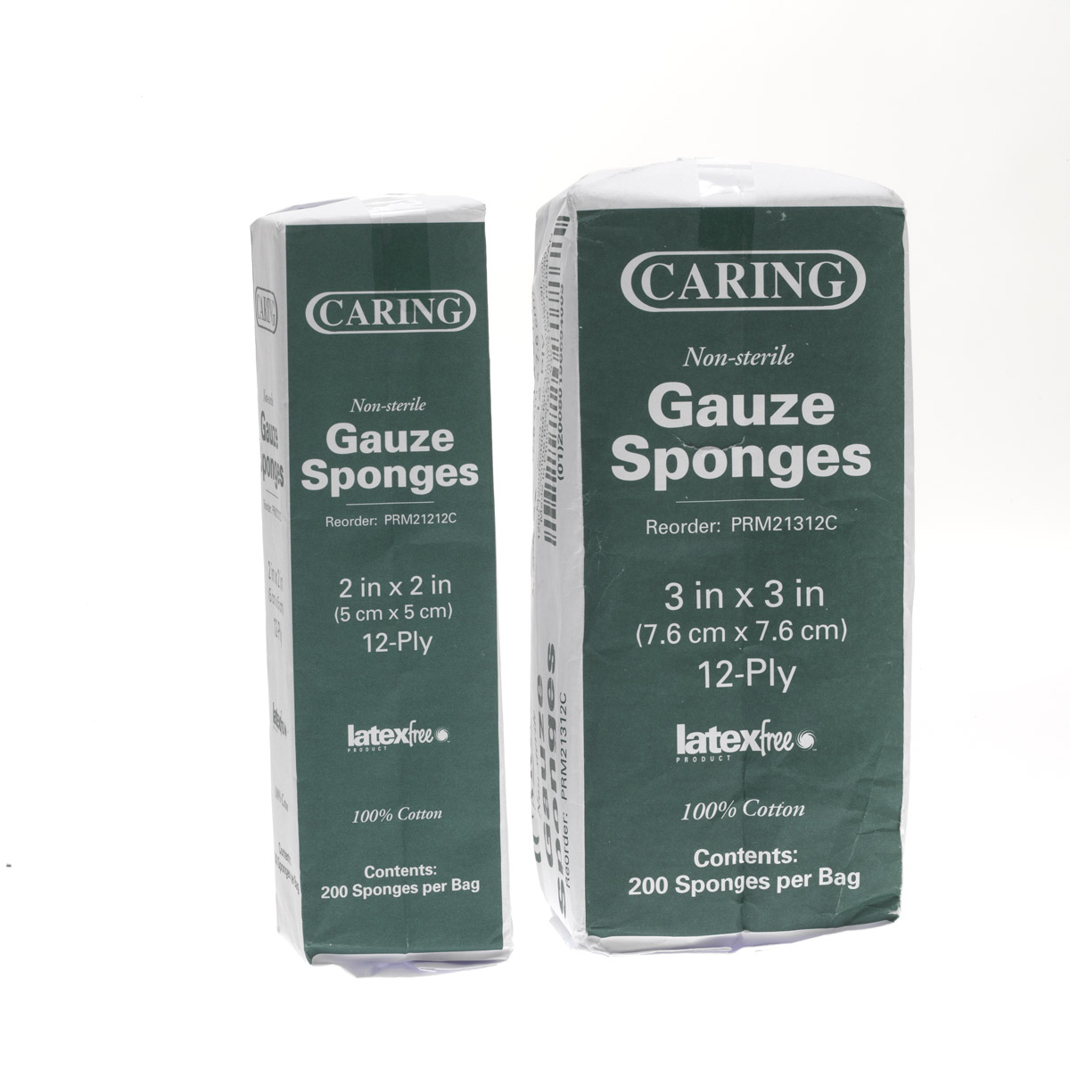 GAUZE, 4X4 12-PLY, NON-STERILE, MEDLINE, 2000/CS