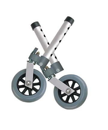 "Swivel Lock 5"" Walker Wheels, , 5"" Wheel Size"
