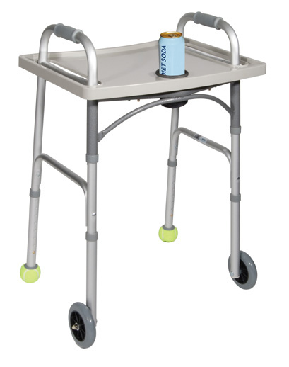 TRAY,WALKER,DRIVE MEDICAL,BEIGE,UNIVERSAL,EACH