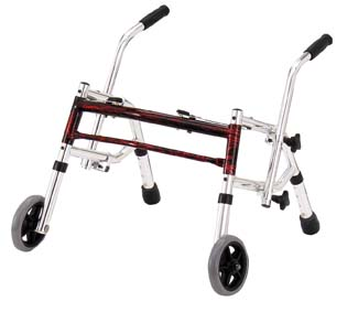 Glider Walker, Flame Red, Pediatric Size